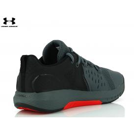 MOŠKI ŠPORTNI UNDER ARMOUR CHARGED COMMIT 3022027-003 BLACK GREY
